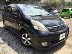 沖縄の中古車 トヨタ アイシス 車両価格 49万円 リ済別 平成17年 7.5万K ブラック