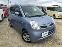 沖縄の中古車 日産 モコ 車両価格 49万円 リ済別 平成19年 6.1万K ライトブルー