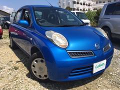 沖縄の中古車 日産 マーチ 車両価格 39万円 リ済別 平成20年 6.7万K ブルー