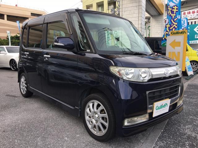 沖縄の中古車 ダイハツ タント 車両価格 44万円 リ済別 平成20年 12.5万km 紺