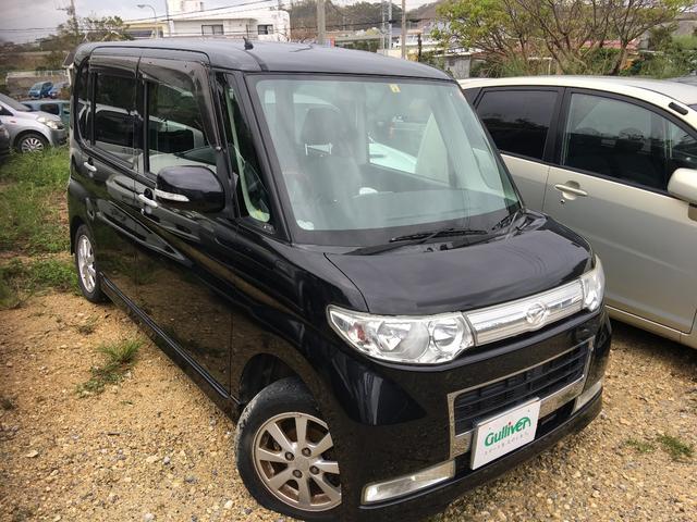 沖縄の中古車 ダイハツ タント 車両価格 64万円 リ済別 平成20年 8.9万km ブラック