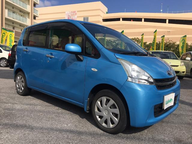 沖縄の中古車 スバル ステラ 車両価格 47万円 リ済別 平成24年 7.0万km ライトブルー