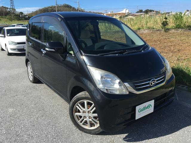 沖縄の中古車 ダイハツ ムーヴ 車両価格 47万円 リ済別 平成21年 6.7万km ブラック