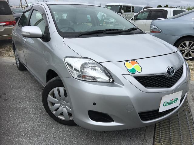 沖縄の中古車 トヨタ ベルタ 車両価格 53万円 リ済別 平成23年 1.5万km シルバー
