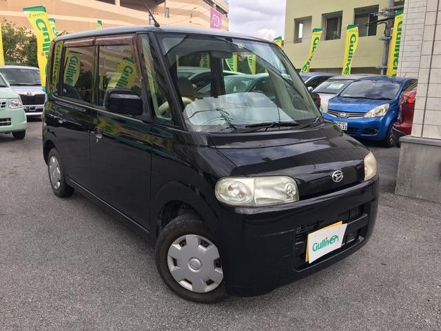 沖縄の中古車 ダイハツ タント 車両価格 34万円 リ済別 平成19年 8.6万km ブラック