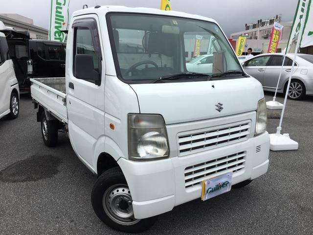 沖縄の中古車 スズキ キャリイトラック 車両価格 61万円 リ済別 2010(平成22)年 3.6万km ホワイト