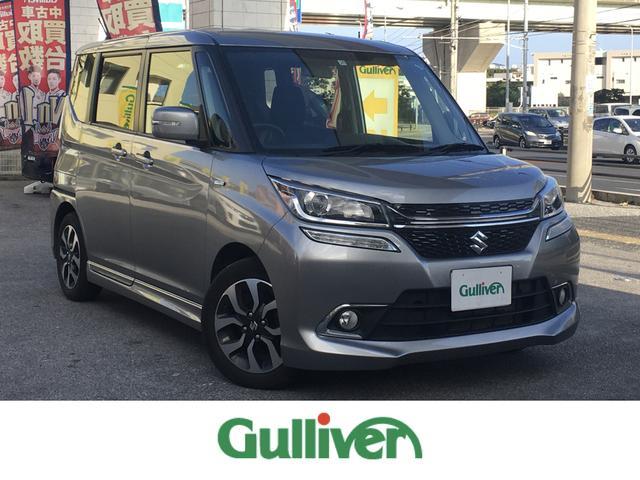 沖縄県の中古車ならソリオバンディット ハイブリッドMV 電動スライドドア ナビ Bluetooth