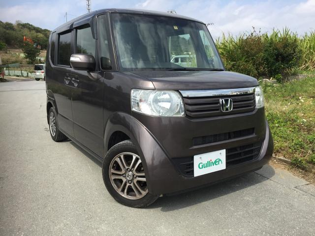 沖縄県の中古車ならN-BOX G・Lパッケージ 両側パワースライドドア ナビ/バックカメラ