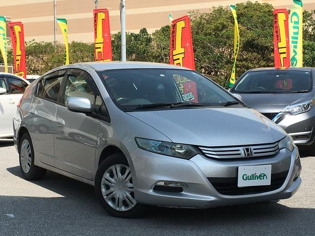沖縄の中古車 ホンダ インサイト 車両価格 49万円 リ済別 2009(平成21)年 9.1万km シルバー