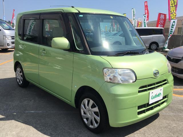 沖縄の中古車 ダイハツ タント 車両価格 42万円 リ済別 2011(平成23)年 11.5万km グリーン