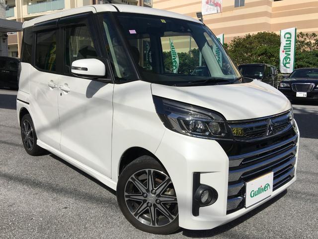沖縄県の中古車ならeKスペース T セーフティパッケージ 衝突安全ボディ/両側電動スライドドア/ETC/TV/CD・DVD再生/Bluetooth/バックカメラ