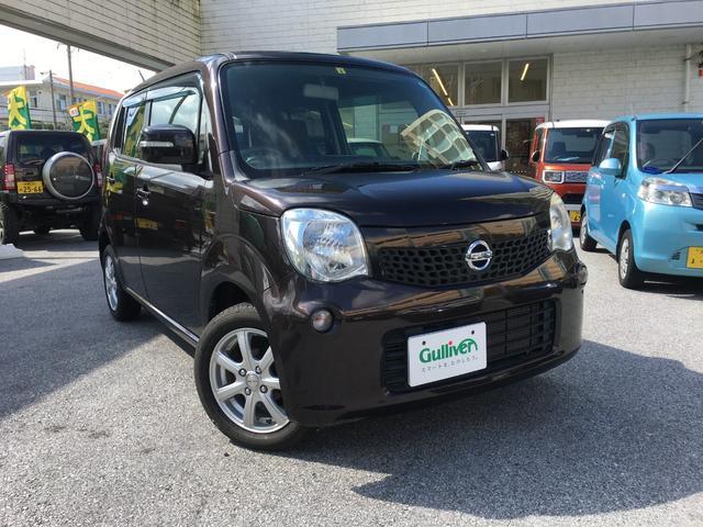 沖縄の中古車 日産 モコ 車両価格 72万円 リ済別 2013(平成25)年 6.3万km ブラウン