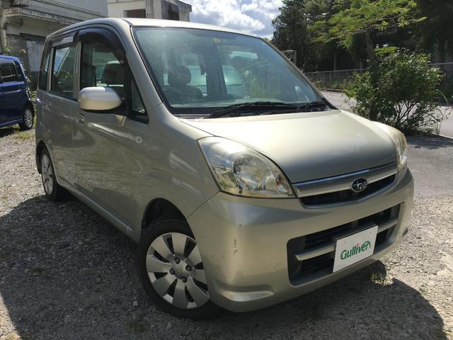 沖縄の中古車 スバル ステラ 車両価格 29万円 リ済別 2007(平成19)年 7.1万km ゴールド
