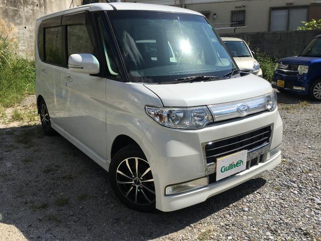 沖縄の中古車 ダイハツ タント 車両価格 32万円 リ済別 2009(平成21)年 14.9万km ホワイト