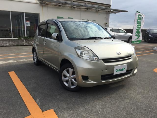 沖縄の中古車 ダイハツ ブーン 車両価格 48万円 リ済別 2010(平成22)年 3.3万km ゴールド
