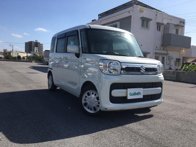 沖縄県の中古車ならスペーシア ハイブリッドX 衝突安全ボディ/Bluetooth/CD再生