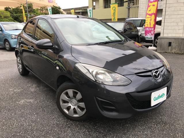 沖縄の中古車 マツダ デミオ 車両価格 53万円 リ済別 2013(平成25)年 6.8万km ガンM