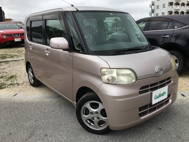 沖縄の中古車 ダイハツ タント 車両価格 52万円 リ済別 2010(平成22)年 8.7万km ピンク