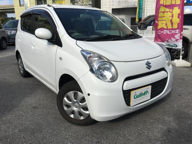 沖縄の中古車 スズキ アルト 車両価格 37万円 リ済別 2013(平成25)年 8.8万km ホワイト