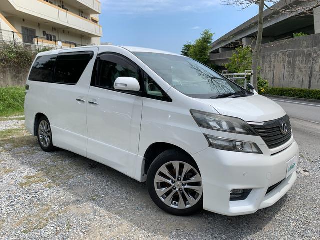 沖縄県の中古車ならヴェルファイア 2.4Z プラチナセレクションII