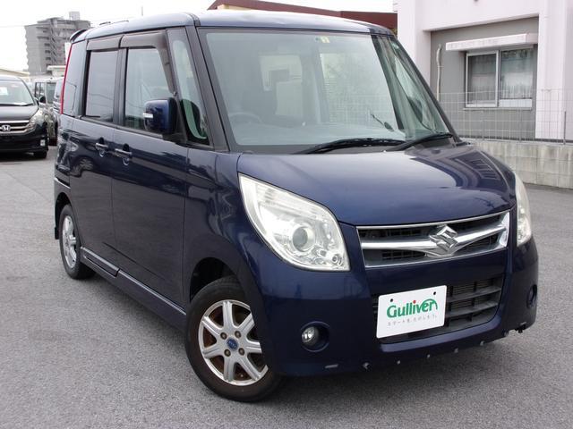 沖縄の中古車 スズキ パレット 車両価格 57万円 リ済別 2009(平成21)年 8.4万km ダークブルー