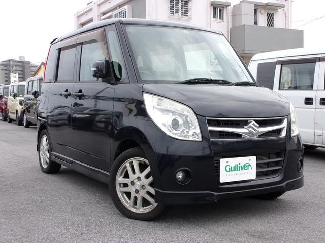 沖縄の中古車 スズキ パレット 車両価格 48万円 リ済別 2008(平成20)年 9.4万km ブラック