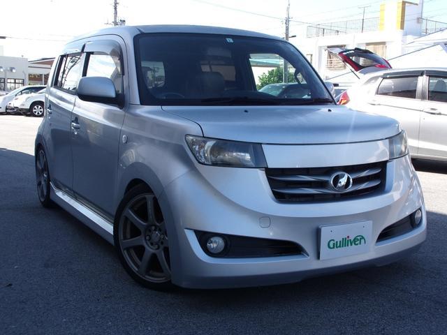 沖縄の中古車 トヨタ bB 車両価格 35万円 リ済別 2007(平成19)年 13.0万km グレー