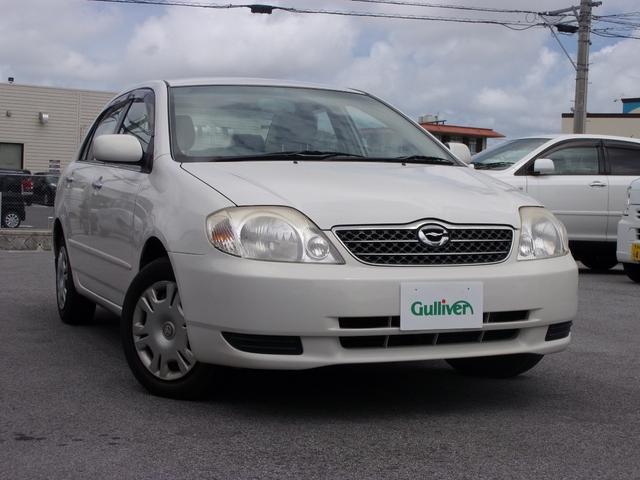 沖縄県の中古車ならカローラ G リミテッドナビスペシャル CDナビ・CD・電動格納ミラー・衝突安全ボディ・キーレスエントリー・ABS