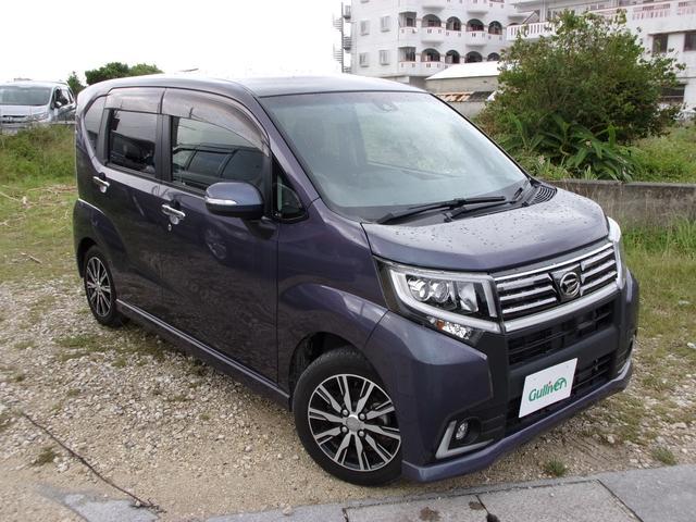 沖縄県の中古車ならムーヴ カスタム X ハイパーSAII 衝突安全ボディ/バックカメラ/Bluetooth/TV・CD・DVD再生