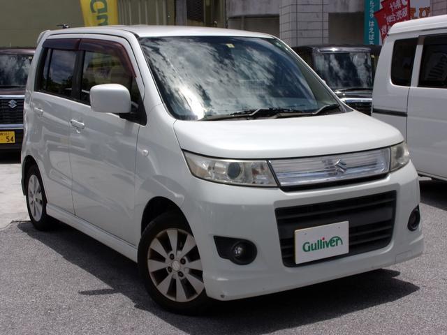 沖縄の中古車 スズキ ワゴンRスティングレー 車両価格 39万円 リ済別 2009(平成21)年 10.6万km ホワイト