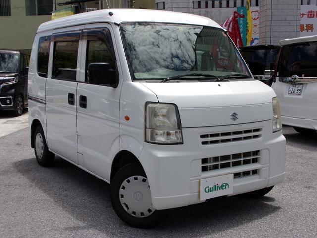 沖縄の中古車 スズキ エブリイ 車両価格 47万円 リ済別 2009(平成21)年 11.4万km ホワイト