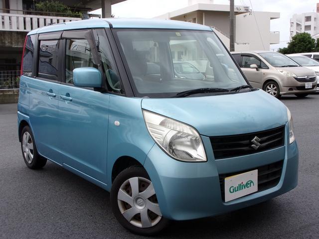 沖縄の中古車 スズキ パレット 車両価格 43万円 リ済別 2010(平成22)年 10.1万km ブルー