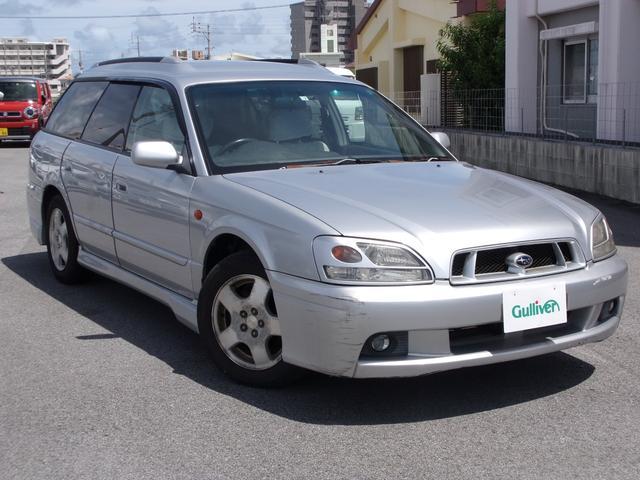 沖縄の中古車 スバル レガシィツーリングワゴン 車両価格 47万円 リ済別 2002(平成14)年 12.5万km シルバー