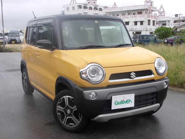 沖縄県の中古車ならハスラー X HIDオートライト/スマートキー/Pスタート/シートヒーター