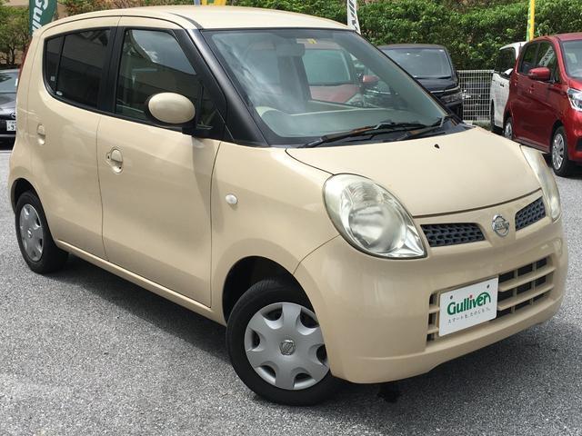 沖縄の中古車 日産 モコ 車両価格 34万円 リ済別 2008(平成20)年 9.8万km ミルクティーベージュM