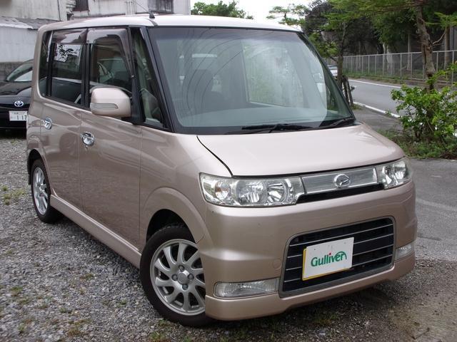 沖縄県の中古車ならタント VS スマートキー/CD再生/天井収納/電動格納ミラー