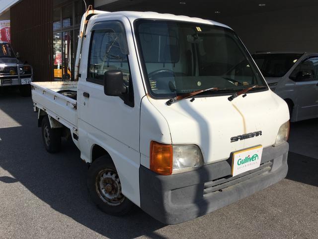 沖縄の中古車 スバル サンバートラック 車両価格 14万円 リ済別 平成12年 17.2万km ホワイト