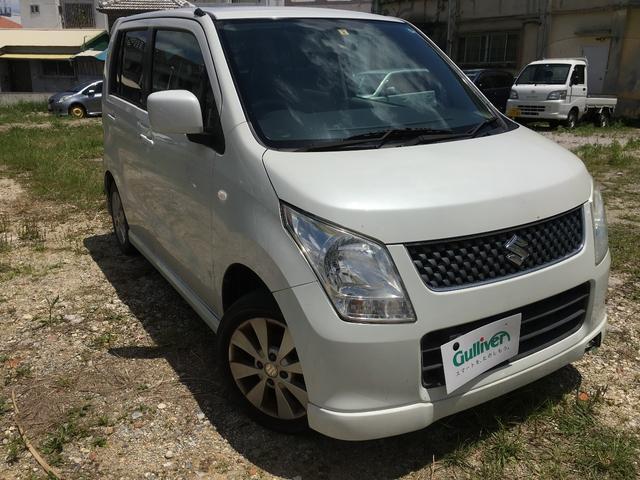 沖縄の中古車 スズキ ワゴンR 車両価格 49万円 リ済別 平成21年 8.7万km ホワイト