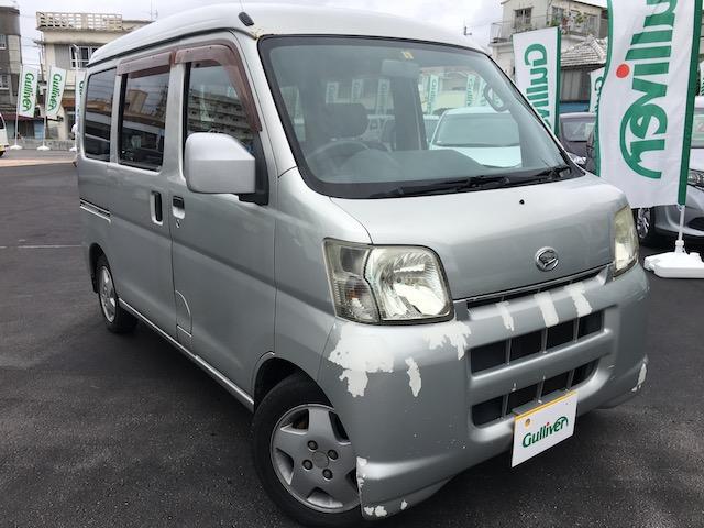 沖縄県の中古車ならハイゼットカーゴ クルーズターボ AT 社外CD・MDオーディオ