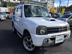 沖縄の中古車 スズキ ジムニー 車両価格 64万円 リ済別 平成18年 7.3万K ホワイト