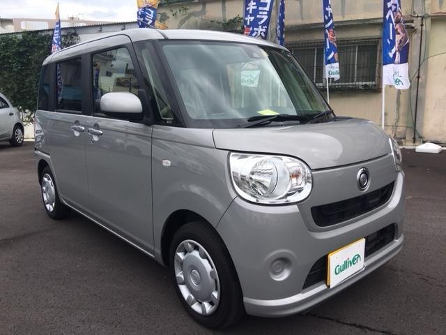 沖縄県の中古車ならムーヴキャンバス X SAII スマートキー アイドリングストップ