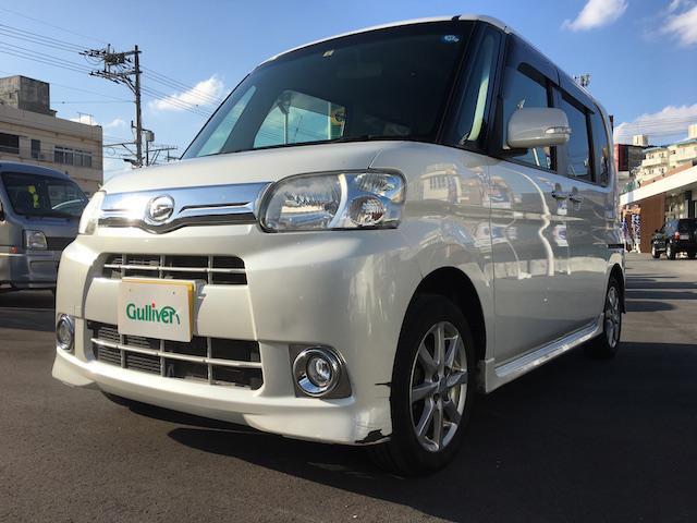 沖縄の中古車 ダイハツ タント 車両価格 54万円 リ済別 平成24年 17.9万km ホワイトM