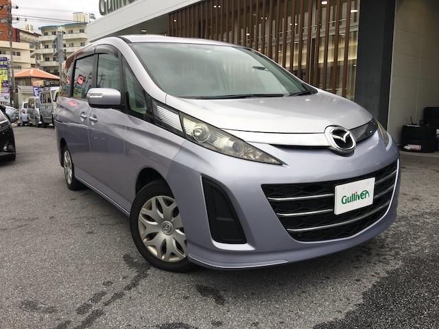 沖縄の中古車 マツダ ビアンテ 車両価格 29万円 リ済別 平成21年 13.4万km シルバー