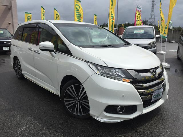 沖縄県の中古車ならオデッセイ アブソルート・EX  ナビ・ETC・フリップダウン
