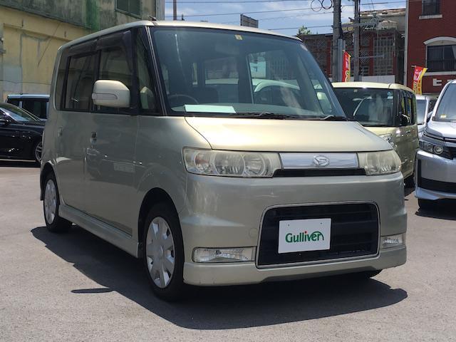 沖縄県の中古車ならタント カスタムL 社外オーディオ キーレスキー 電動ミラー