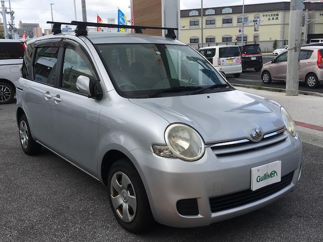 沖縄の中古車 トヨタ シエンタ 車両価格 44万円 リ済別 2008(平成20)年 5.2万km ライトグレー