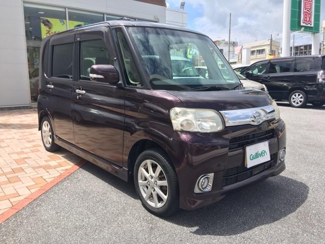 沖縄県の中古車ならタント Gスペシャル アイドリングストップ パワースライドド