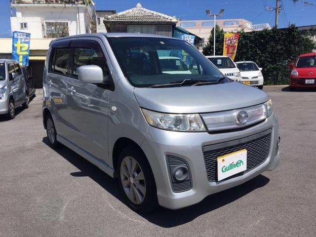 沖縄県の中古車ならAZワゴンカスタムスタイル XS 社外ナビ ドラレコ スマートキー プッシュスタート