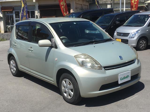 沖縄の中古車 トヨタ パッソ 車両価格 39万円 リ済別 2006(平成18)年 11.7万km ゴールド