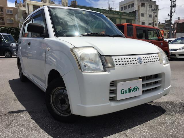 沖縄の中古車 スズキ アルト 車両価格 34万円 リ済別 2008(平成20)年 10.7万km ホワイト